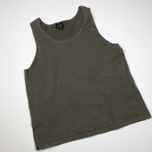eileen fisher tank top basic knit 73np